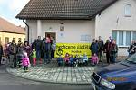 Protestní pochod proti úložišti se na Budišovsku.