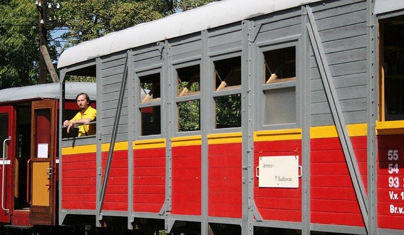 Oslavy 120 výročí trati do Jemnice.