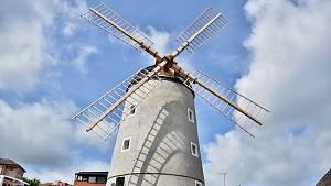 Větrný mlýn na Kanciborku se poprvé otevře veřejnosti v pátek 25. června Uvnitř jsou k vidění tři expozice věnované historii a využití mlýna.