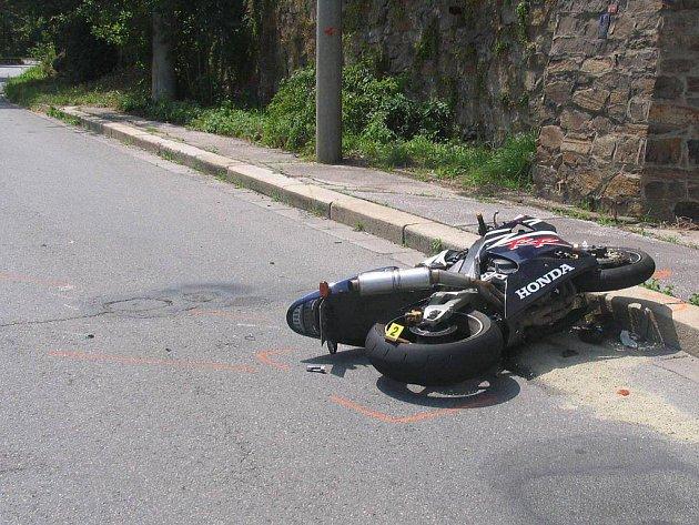 K tragické nehodě vyjížděli ve středu krátce před polednem třebíčští policisté.