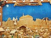 Výstava betlémů v Náměšti nad Oslavou.