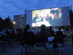 Letní kino v Okříškách