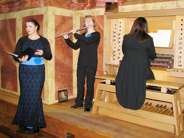 Nové varhany v kostele Sv. Martina v Třebíči.