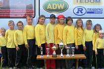 SILNÍ ŽÁCI. Družstvo žáků z Výčap v sezoně 2009. Družstvo je jedno z nejmladších v okrese, nejmladší člen má pouhých pět let. Přesto družstvo bez problémů obstojí před mnohem starší konkurencí. Velké úspěchy se od žáků ve Výčapech čekají i v roce letošním