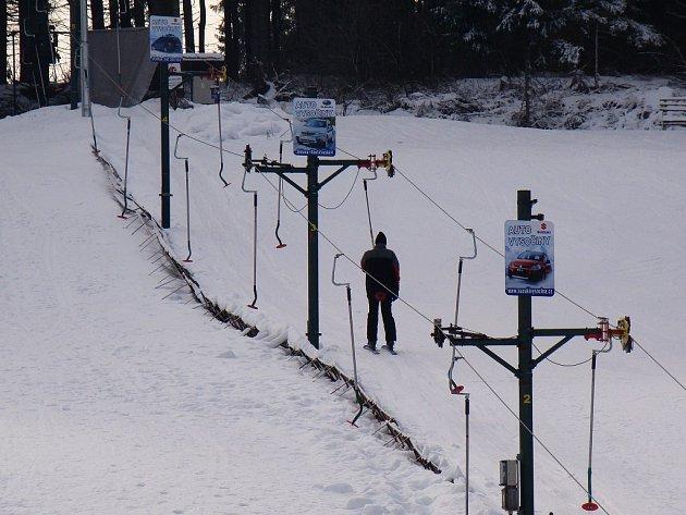 Ski a reál na Jalovci.