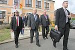 Návštěva prezidenta Miloše Zemana v Martínkově.
