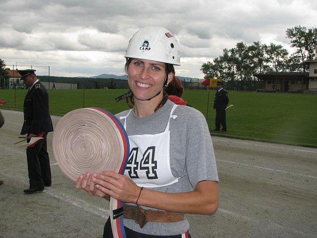 Vítězkou Českého poháru se stala mezi ženami Pavla Švaříčková z SDH Trnava v okrese Třebíč.