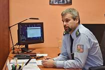 Ředitel mužské Věznice Rapotice František Melichar.