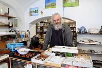 Soukromý badatel a milovník historie Petr Valeš z Kamenice nad Lipou