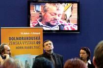 Prezentace kraje Vysočina na výstavě Regiontour v Brně.