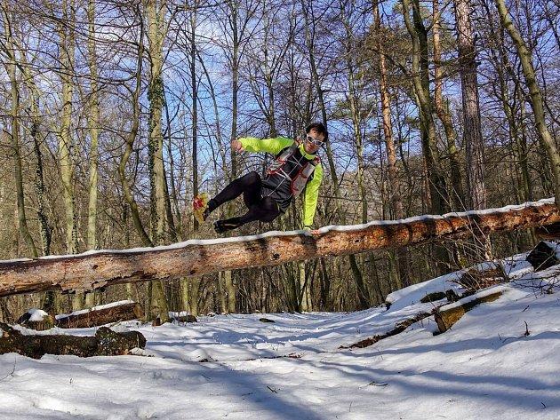 Běh 33 km: Znojemská přehrada.