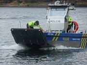 Policisté v sobotu zkontrolovali Dalešickou přehradu.