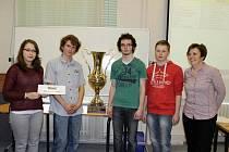 V krajském kole si postup do Chebu vybojovaly další čtyři školy v čele s Gymnáziem Třebíč.