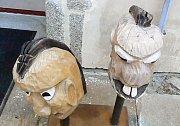 Výstava Open Per4mance.Na zámku v Třebíči.