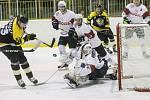Hokejisté Moravských Budějovic zvládli domácí odvetu proti Klatovům na výbornou a oplatili čtvrtfinálovému soupeři porážku z jeho ledu v prvním utkání.