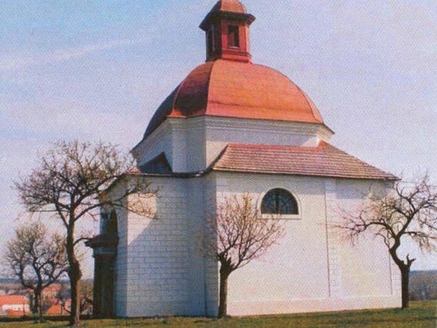 Kaple Sv. Kříže v Dalešicích.