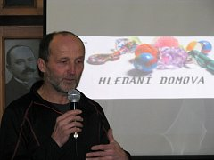 Pavel Mikoláš dostal festival dokumentárních filmů Jeden svět v roce 2012 poprvé do Třebíče.