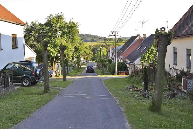 Bývalá židovská čtvrť v Polici.