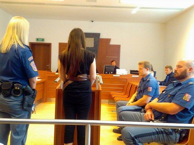 Městský soud v Brně rozhoduje o dalším setrvání sedmadvacetileté Barbory Orlové v zabezpečovací detenci.