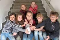 Děti ze Základní a mateřské školy Oslavice pořádají sbírku pro Ondru.