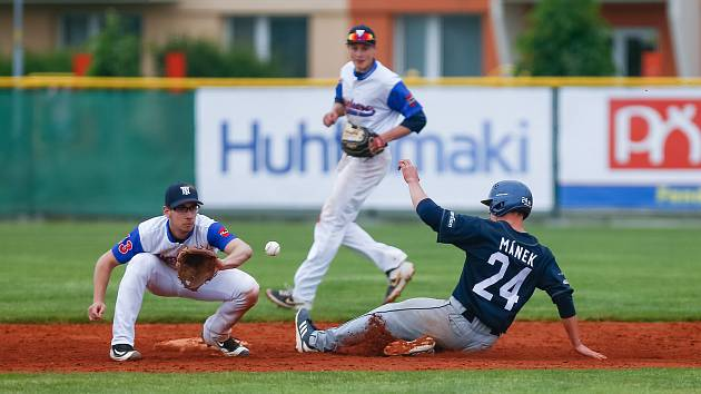 Baseballisté Techniky i Hroši mají dvě výhry, Draci zdolali obhájce jednou