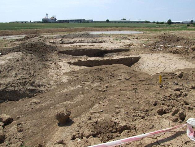 Unikátní nález byl objeven na místě germánské osady z doby Římského císařství.