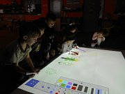 Mateřská škola Benešova v Třebíči pořídila pro děti interaktivní MagicBox.  Foto: Zuzana Jará