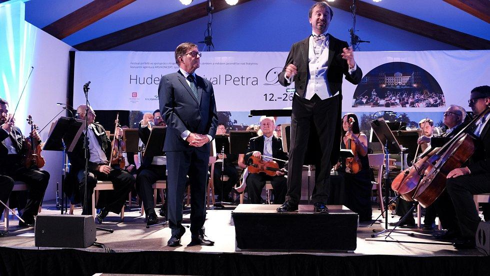 Zahajovací koncert P. Dvorského 2020