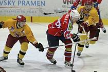Hokejisté jihlavské Dukly ve středečním zápase v Třebíči excelovali.