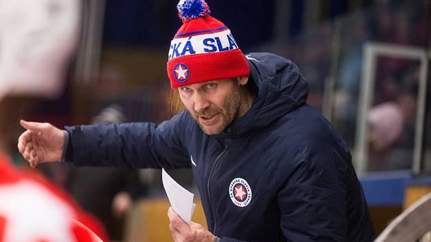 Klíčem k úspěchu byl skvělý kolektiv, říká trenér Horácké Slavie Třebíč Novák