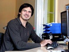 Michal Mikeska při online rozhovoru v Třebíčském deníku.