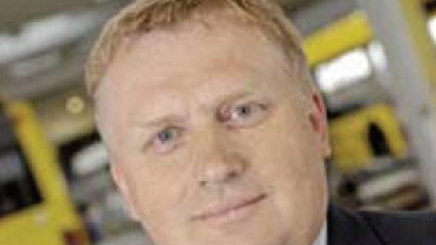 Generální ředitel firmy TEDOM Josef Jeleček.