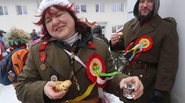 Maškarády zaplní Třebíčsko, masopustní veselí je v plném proudu