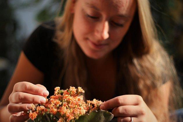 """Bibi studuje botaniku na Přírodovědecké fakultě Masarykovy univerzity vBrně. """"Už od malička jsem inklinovala kpřírodním vědám a přírodě obecně. Bylo mi jasné, že ji chci studovat, botanice jsem přišla na chuť až na vysoké škole. Vbudoucnosti bych se ch"""