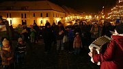 Zpívání koled v Náměšti nad Oslavou.