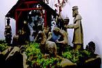 Betlém, který voní dřevem je k vidění na Staré radnici