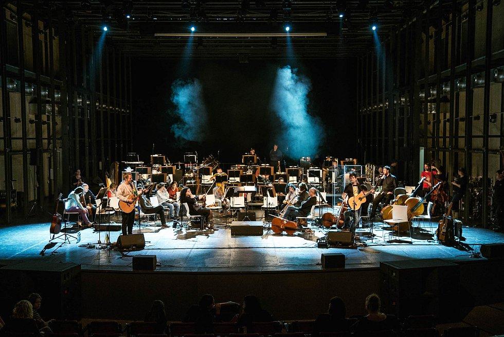 Tomáš Klus - zkouška s orchestrem.