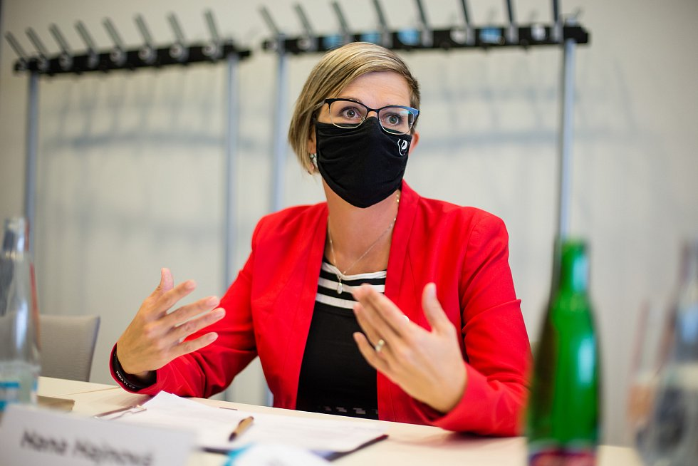 Předvolební debata Deníku Vysočina - Hana Hajnová (lídr Piráti).