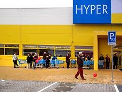 Před Hyperalbertem se žádný nedočkavý dav nekonal.