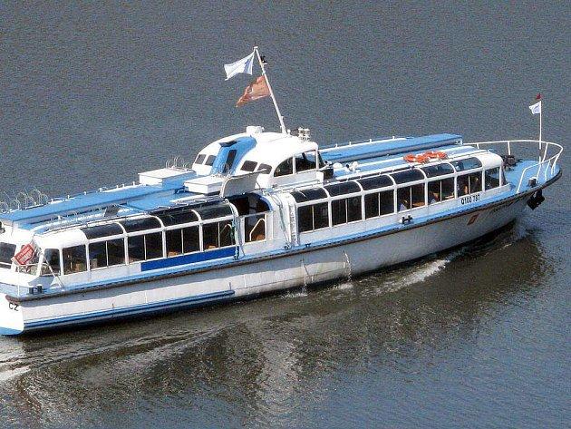 Loď Vysočina vyplula na svou první letošní plavbu.