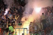 Takto vypadal zápas třebíčského mužstva s HC Kometou Brno před čtrnácti dny na zimním stadionu v Třebíči.