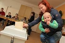 Volby v Okarci.