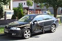 K dopravní nehodě dvou osobních vozidel došlo ve středu kolem 15. hodiny v ulici Březinova.