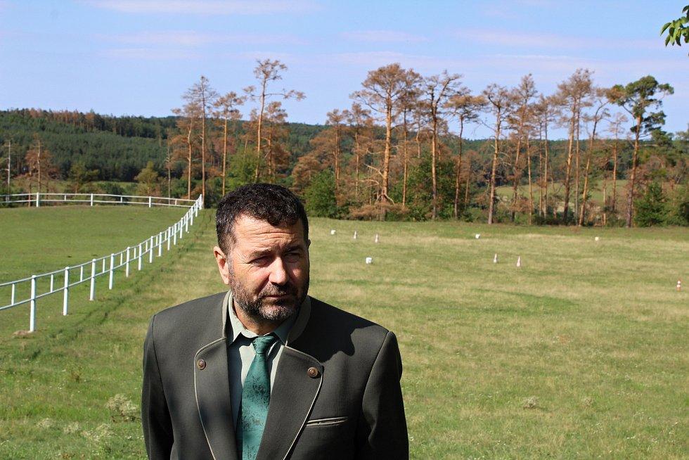 Lesní správce z Třebíče Aleš Rusek.