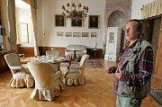 Představuje autentickou podobu interiérů zámku z konce 19. a počátku 20. století.