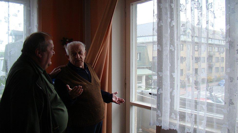 Městské byty v Náměšti nad Oslavou v ulici Husova