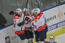 Postupová pečeť do čtvrtfinále play-off první ligy přišla až v posledním zápase základní části. Hokejisté Třebíče ale v přímém souboji o první šestku porazili Ústí nad Labem a úspěch si naprosto zasloužili.