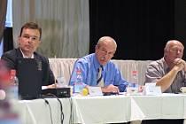 Starosta Ivo Uher, místostarostové Miloš Mašek a Stanislav Mastný.