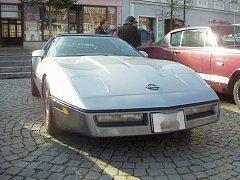 Corvette C4 na Karlově náměstí v Třebíči.