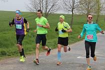 Pátý půlmaraton se běžel v dešti.